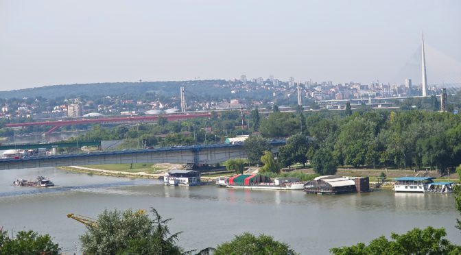 The Barges in Belgrade